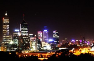 perth city night view IMG_6261c