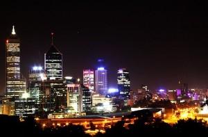 perth city night view IMG_6261c